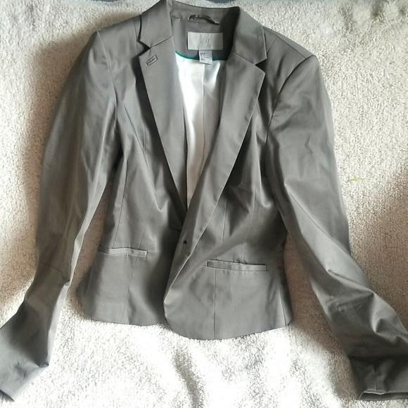 H&M Taupe Blazer